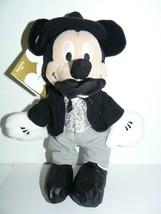 "Disney Store Mini Bean Bag Wild West Mickey Mouse 8"" - $28.22"