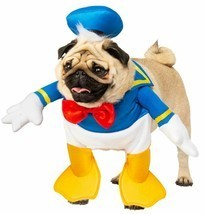 Rubies Disney Donald Duck Mickey Cartoons Dogs Pets Halloween Costume 20... - £15.92 GBP+