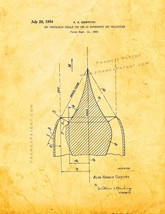 Jet-propulsion Nozzle Patent Print - Golden Look - $7.95+