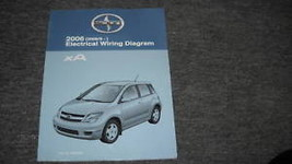 2006 Scion XA Electrical Wiring Diagram Troubleshooting Manual EWD EVTM OEM - $42.52