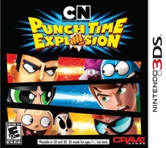 Cartoon Network: Punch Time Explosion - Nintendo 3DS [video game] - $9.62