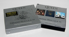 Queen The Greatest Hits I II III Platinum Collection 3-CD Set Hollywood ... - $13.95