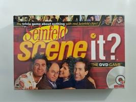 Scene It Seinfeld The Dvd Game 2008 Screen L Ife New Sealed - $18.32