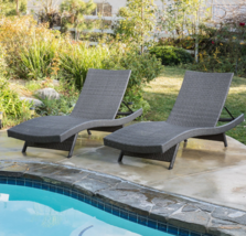 Outdoor Ajustable Comfort Chaise Lounge Chairs ... - $389.99