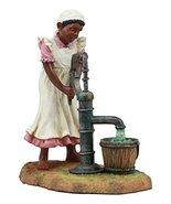 Ebros Vintage Black Americana History African American Girl Pumping Wate... - $26.49