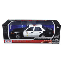 2001 Ford Crown Victoria Los Angeles Police Department LAPD Car 1/18 Die... - $61.95