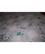 vintage wilendur morning glory tablecloth - $45.00