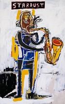 "Jean-Michel Basquiat ""Stardust,1983"" HD print on canvas huge wall pictur... - $29.69"