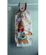 Gingerbread Cookie Hanging Towel - $3.25