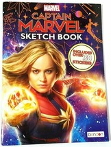 2019 - Marvel CAPTAIN MARVEL Sketch Book (Includes over 30 Stickers) NEW - $4.94