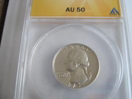 1959 Washington Quarter , ANACS , AU 50 - $19.00