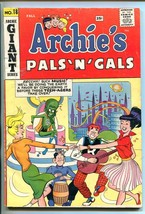 Archie's Pals 'n' Gals #18 1961-MLJ/ARCHIE-HORROR SCI-FI COVER-GIANT SERIES-vg - $56.75