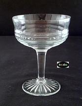 Circle Crystal Champagne / Tall Sherbet Stem Hocking - $4.25