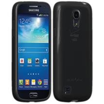 Verizon High Gloss Silicone Cover for Galaxy S4 Mini – Black - $6.92