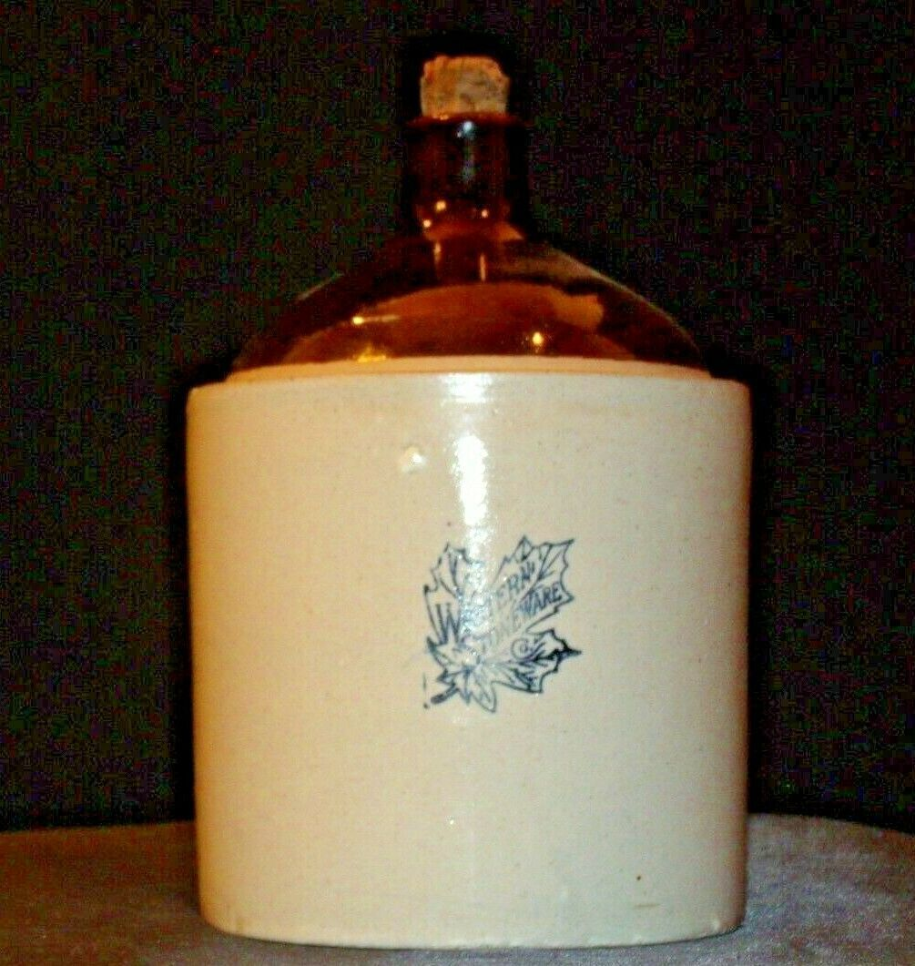 Western Stoneware Crock AA-191800 Collectible Vintage