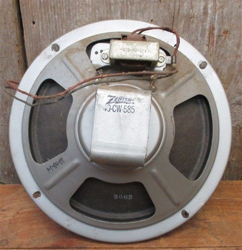 1946 Zenith 6R087 Floor Model Radio Speaker and similar items