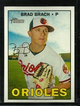 2016 Topps Heritage High Number #696 Brad Brach NM-MT Orioles - $0.99