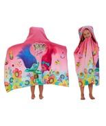 "Franco Kids Bath and Beach Cotton Terry Hooded Towel Wrap, 24"" x 50"", Tr... - $40.06+"