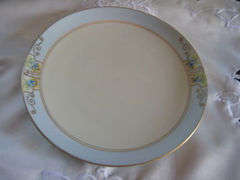 handpainted plate marked meito china - $10.00