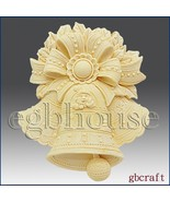 2D Silicone Soap Mold - Kringle Bells - $26.28