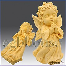 2 1/2D Silicone Soap Mold - Praying Angel Girl - Charmeine - FREE SHIPPING - $29.85