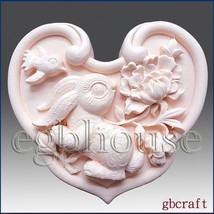 2D Silicone Soap Mold  - Oriental Zodiac Sign - Rabbit - $23.61