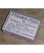 Pyramid Pills Patent Medicine Antique Druggist Apothecary Ca - $12.99
