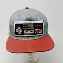 Nintendo Classic Nes Controller Snapback Hat From Bioworld Merch Osfa - $16.30