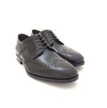 Negro Us Salvatore Ferragamo Talla Cordón de Cuero Zapato Nuevo 1532222 Romeo Y CZ6qnwP8xq