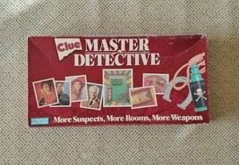 """Clue Master Detective Board Game """"Perfect for Murder Mystery Parties"""" - $27.00"""