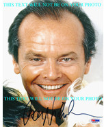 JACK NICHOLSON AUTOGRAPHED 8x10 RP PHOTO CLOSE UP GREAT SMILE THAT LOOK - $14.99