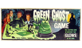 Vintage Transogram Green Ghost Glow in the Dark Monster Game 100% Comple... - $299.99