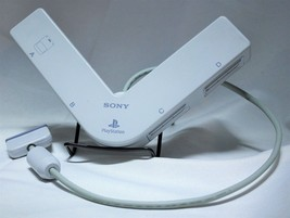 Sony Playstation One PS1 4 Player Multi-Tap Accessory Original OEM WHITE - $19.34