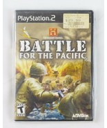 Playstation 2 History Channel Battle for the Pacific video game - $18.80