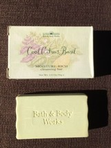 Bath & Body Works COOL CITRUS BASIL Moisture Rich Cleansing Bar Soap 2 o... - $6.92