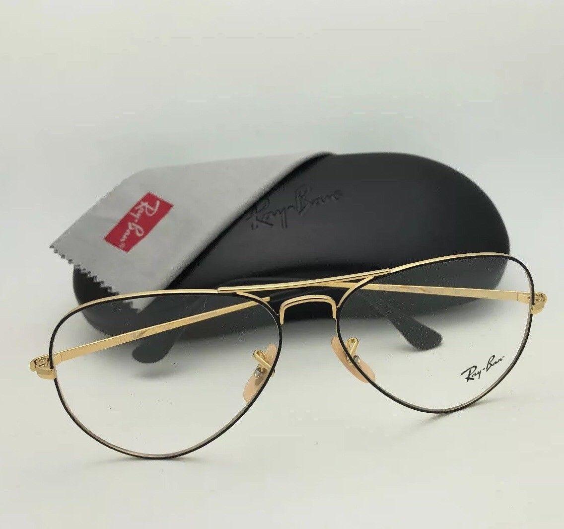 dfa82690dd New RAY-BAN Aviator Rx-able Eyeglasses RB and 50 similar items
