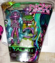 Novi Stars Mae Tallick Doll Talks Glow in Dark Stand Pet 8-Bit NEW Purple - $20.00