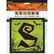 Spooky Haunted House Halloween 4 Ft Block Banner Decoration - $3.13
