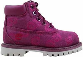 Timberland 6 Inch Classic Boot Magenta Floral TB0A175K Toddler - $32.95+