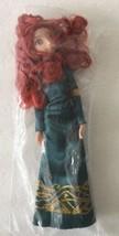 "Disney Pixar Brave Princess Merida Green Gown Jointed Poseable Doll 11"" - NWOB - $27.99"