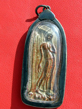Very Rare! Holy Magic Phra Pang-Lila Kru-Kao Old Thai Buddha Amulet - $19.99