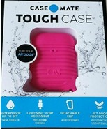 Soft Neon Pink Case Mate Tough Airpods Case Waterproof Up to 3 Feet Seri... - $13.95
