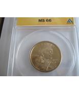 2000-P , Sacagawea Dollar , ANACS , MS 66 - $29.00