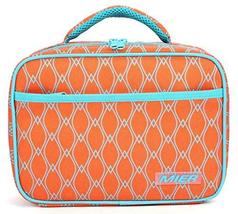 MIER Kids Lunch Box, Fit in Backpack, Orange - $20.00+