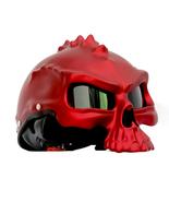 Masei 489 Matt Red Skull Motorcycle Chopper Helmet - $199.00
