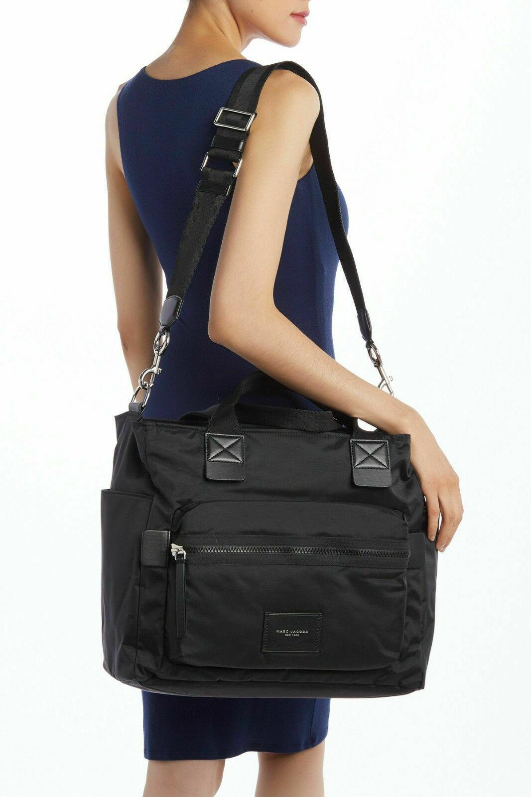88157626c4f13c Marc Jacobs Biker Nylon Baby Bag Black - BRAND NEW FACTORY SEALED - MSRP  $310