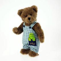 "Boyds Bears ""BILLY GOODFRIEND W/ LIL' RIBBIT"" #4032069- 10"" Plush Bear-2... - $29.99"