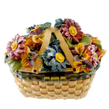 "Boyds Treasure Box ""Sage Basketblooms"" #392180LB-Longaberger LE-NIB-2008... - $29.99"