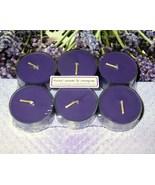 Herbal Lavender & Lemongrass PURE SOY Tea Light... - $5.00