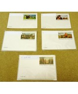 Collection of Mint USA Stamp Postcards Lot of 1... - $12.44